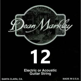 Dean Markley 1012 Plain Steel Single .012