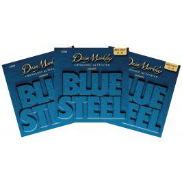 Dean Markley 2036 ML 12-54 Blue Steel Acoustic 3-PACK 012-016-025-032-