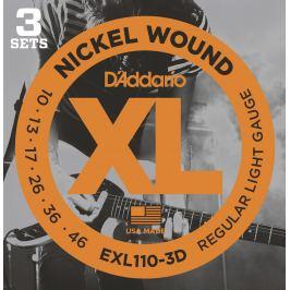 D'Addario EXL110-3D