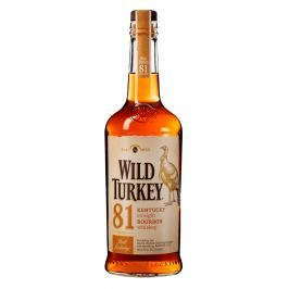 Wild Turkey 81 proof 40,5% 1l