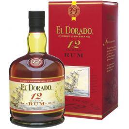 El Dorado 12yo 40% 0,7l Destiláty