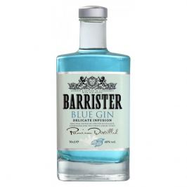 Barrister gin Barrister Blue Gin 40% 0,7l