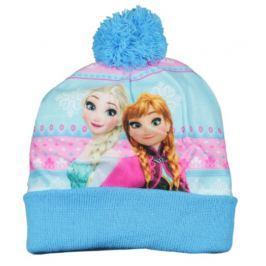 E plus M Dívčí čepice Frozen - modrá