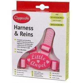 Clippasafe Vodítko pro dítě - růžové