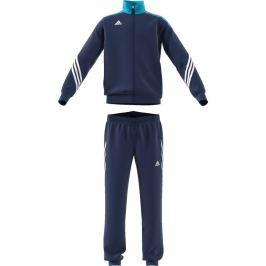 adidas Chlapecká tepláková souprava - tmavě modrá