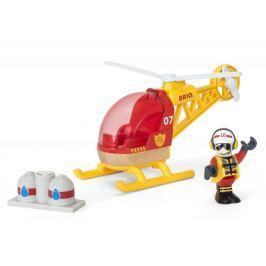 Brio WORLD 33797 Hasičský vrtulník
