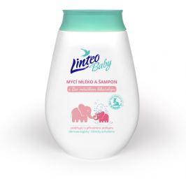 Linteo Baby Dětské mycí mléko a šampón s Bio měsíčkem lékařským 250 ml
