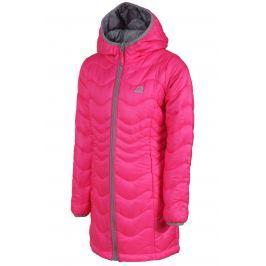 ALPINE PRO Dívčí kabát Alanzo - růžový