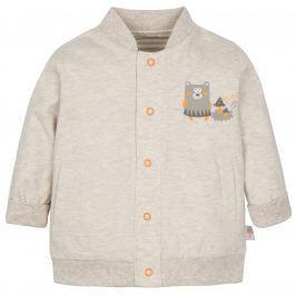G-mini Dětský oboustranný kabátek Sobík - béžový