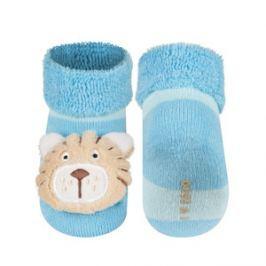 SOXO® Chlapecké ponožky s tygříkem - modré