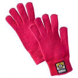 Puma Dívčí rukavice Mimoni - růžové
