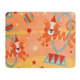 My Best Home Dětská deka Tricky, 75x100 cm - oranžová