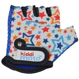 Kiddimoto Cyklistické rukavice Stars - barevné, velikost S