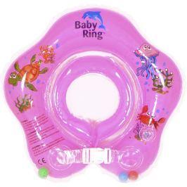 Babypoint Baby ring 3-36m, růžová
