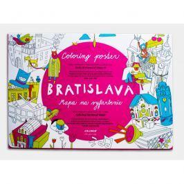 Coloreo Vybarvovací plakát – omalovánka, Bratislava