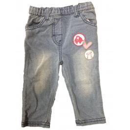 Carodel Dívčí kalhoty s potiskem - šedé
