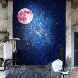 MaDéco Nástěnná svítící samolepka Měsíc