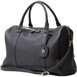 PacaPod FIRENZE hnědá - luxusní kožená kabelka i přebalovací taška