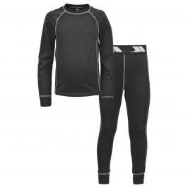 Trespass Dětské funkční prádlo Mika - černé