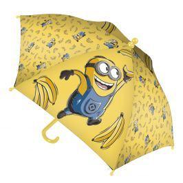 Disney Brand Dětský deštník Mimoni - žlutý