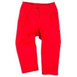 MMDadak Dívčí kalhoty Kokardki - červené