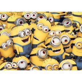 Vopi Dětský koberec Mimoni, 133x95 cm - žlutý