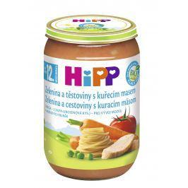 HiPP BIO Zelenina s těstovinami a kuřecím masem 6x220g
