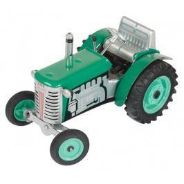 KOVAP Traktor Zetor zelený na klíček kov 14 cm 1:25