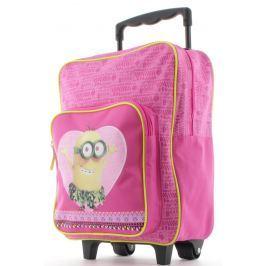 Mimoni Dětský batoh na kolečkách Mimoňi
