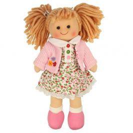 Bigjigs Látková panenka Poppy 25 cm