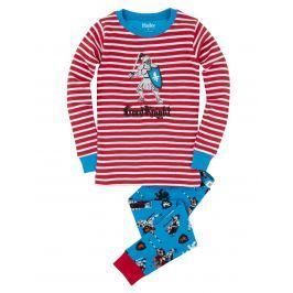 Hatley Chlapecké pyžamo s rytířem - barevné