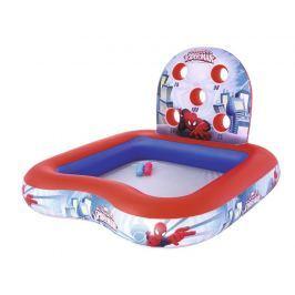 Bestway Nafukovací hrací centrum s bazénem Spiderman, 1,55m x 1,55m x 99cm