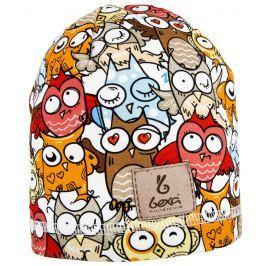 Bexa Chlapecká čepice Owl  - barevná