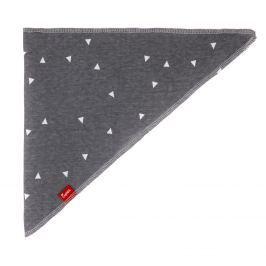 Bexa Dětský šátek Bodek - tmavě šedý