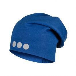 Lamama Dětská čepice s reflexním potiskem - modrá