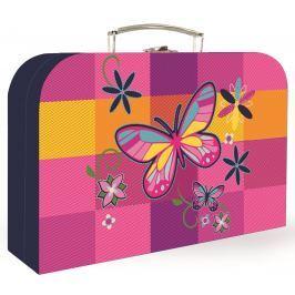 Karton P+P Kufřík lamino 34 cm Motýl