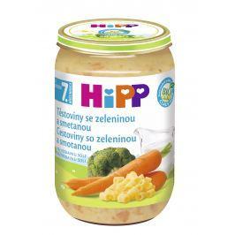 HiPP Těstoviny se zeleninou a smetanou 220g