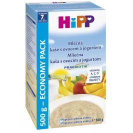 HiPP Mléčná kaše s ovocem a jogurtem  500 g