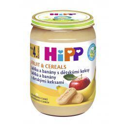 HiPP BIO Jablka a banány s dětskými keksy