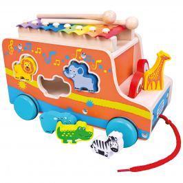 Mertens Auto vkládačka s xylofonem