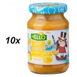 Hello Ovocná přesnídávka s mangem 10x190g