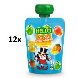 Hello Ovocná kapsička s mangem 12x100g