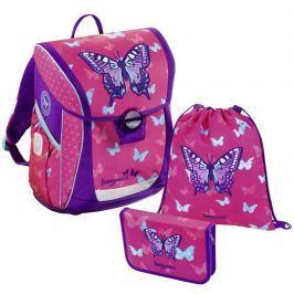 HAMA Školní 3-dílný set, Baggymax Fabby Motýl