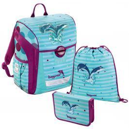 HAMA Školní 3-dílný set, Baggymax Trikky Delfíni