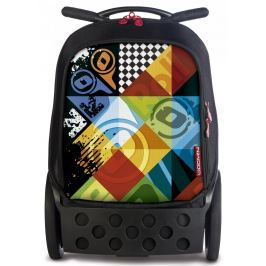 Nikidom Roller batoh na kolečkách Logomania