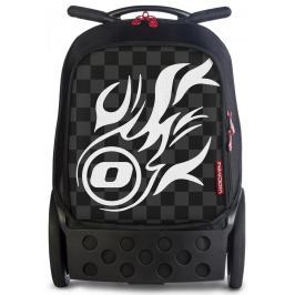 Nikidom Roller XL batoh na kolečkách White Fire