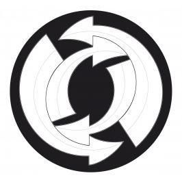 Nikidom Sada samolepek Roller Wheel Stickers Arrows