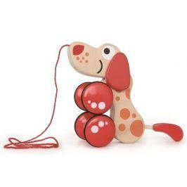 Hape Toys Tahací pejsek na kolečkách
