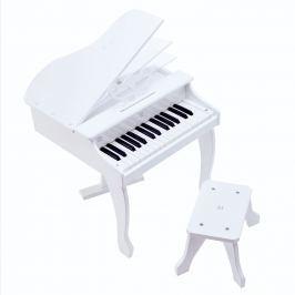 Hape Toys Deluxe piano, bílé