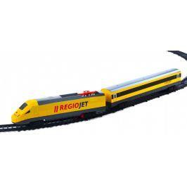 Rappa Vlak žlutý RegioJet se zvukem a světlem - funkční model soupravy